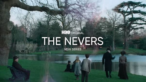 The Nevers was previewed in the new HBO Max promo. (Image: HBO screencap)
