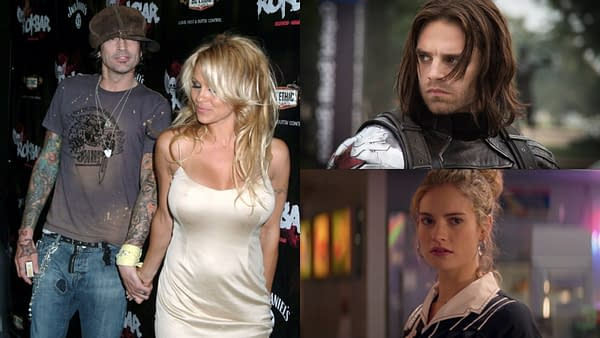 Pamela Anderson and Tommy Lee will be the subjects of a Hulu limited series (Images: Everett Collection-Shutterstock.com / TWDC / Netflix)