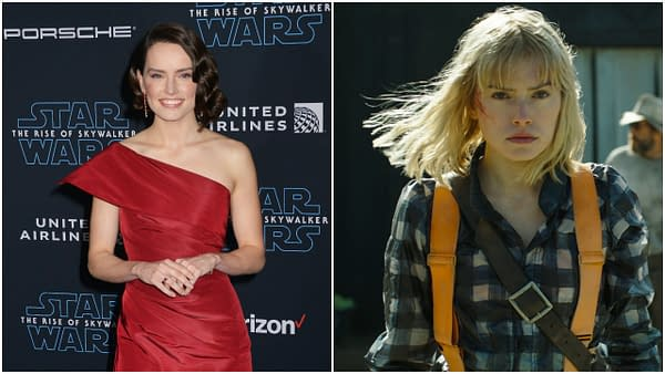 "Daisy Ridley Was Called ""Intimidating"" on the Chaos Walking Set"