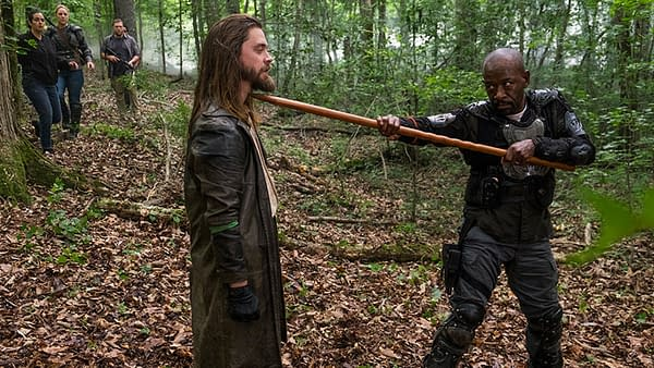 The Walking Dead Alum Tom Payne Was More Than Ready to Take Out Negan (Image: AMC)