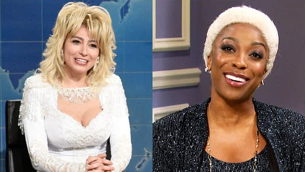 Saturday Night Live got thumbs-up from Dolly Parton and Dionne Warwick (Images: NBCU)
