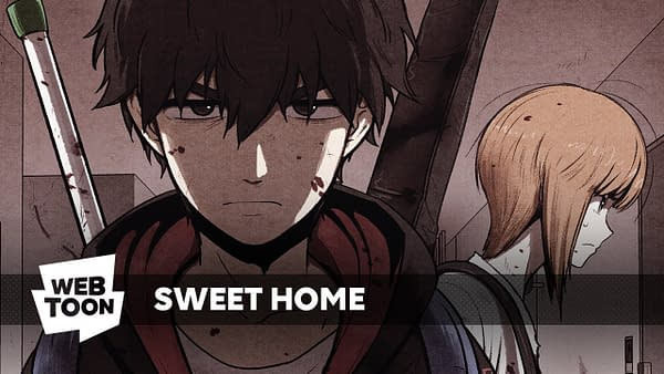 Sweet Home: A Horror Webtoon Comic of the Moment