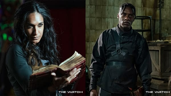 The Watch released new previews for the series. (Image: BBC America)