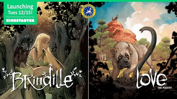 Brindille: Magnetic Press Launches Kickstarter for Graphic Novel