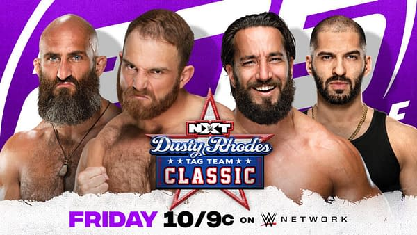 Timothy Thatcher and Tommaso Ciampa will put aside their differences to team up and enter the Dusty Rhodes Classic on 205 Live