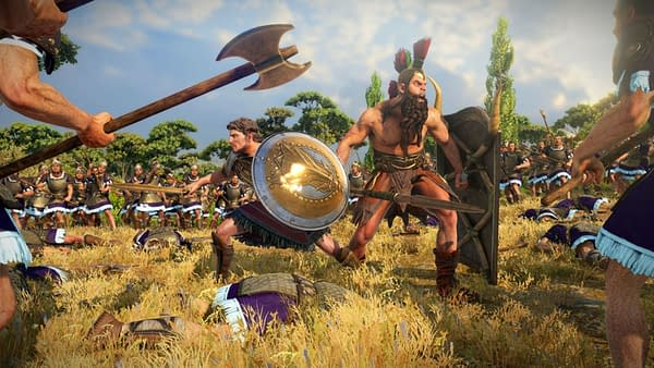 A look at Ajax and Diomedes, in all of their fury and glory. Courtesy of SEGA.