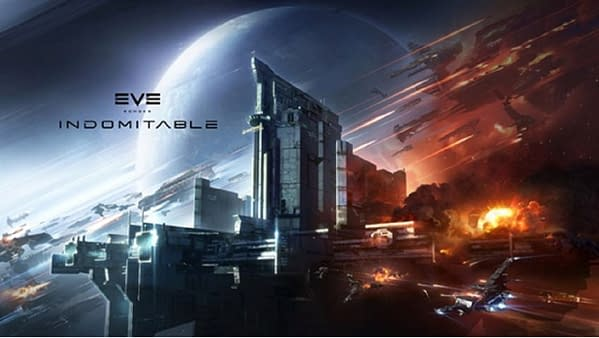 A look at the promo art for Indomitable, courtesy of CCP Games.