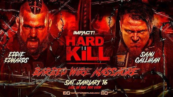 Eddie Edwards will face Sami Callihan at Impact Hard to Kill