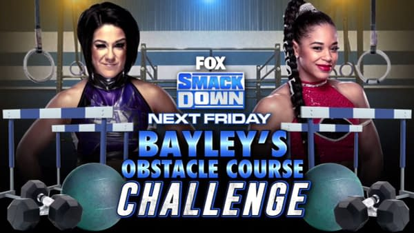 Bayley faces Bianca Belair in an Obstacle Course Challenge on Smackdown ahead of the Royal Rumble