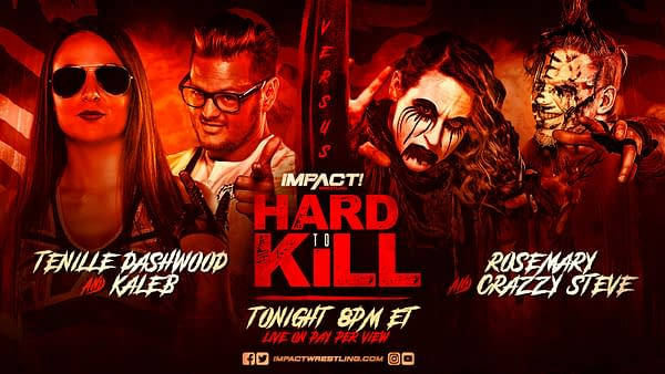 Math graphic for Tenille Dashwood and Kaleb vs. Rosemary and Crazzy Steve