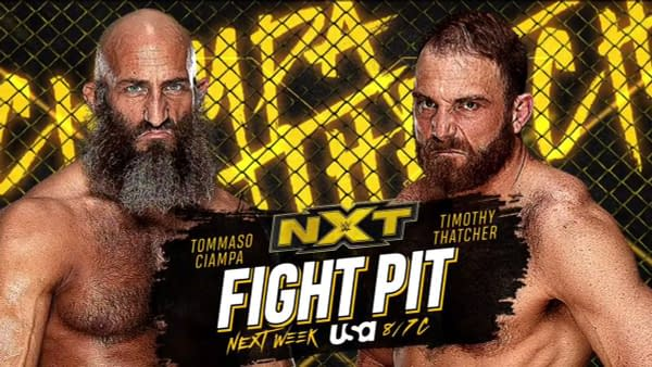 After an injury prevented this match from taking place at New Years Evil, Tommaso Ciampa and Timothy Thatcher will meet in the Fight Pit next week