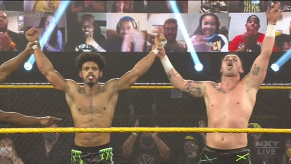 Wes Lee and Nash Carter, FKA Dezmond Xavier and Zachary Wentz, debuted on NXT as MSK