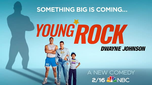 Young Rock premieres this February on NBC. (Image: NBCU)
