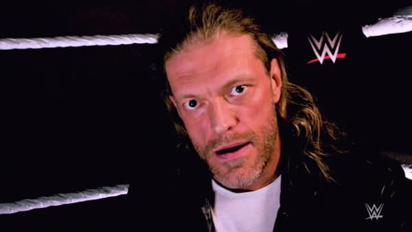 Edge appears on WWE Raw to announce he'll enter the Royal Rumble and win back the WWE Championship