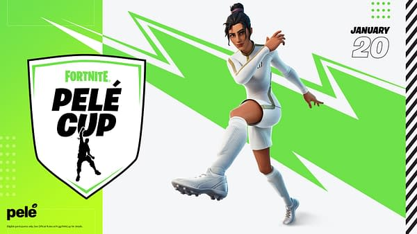 Now you can compete in the Fortnite Pelé Cup happening this week, courtesy of Epic Games.