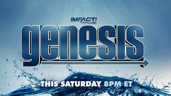 The official logo for the Impact Wrestling Genesis Impact Plus special