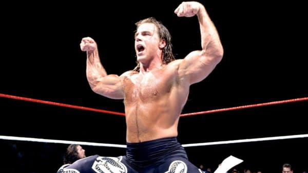 WWE Superstar Shawn Michaels, image courtesy WWE.