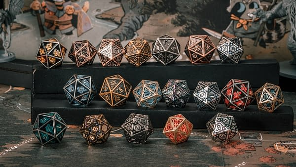 A look at the different sets of dice the company has to offer, courtesy of InfiniDice.