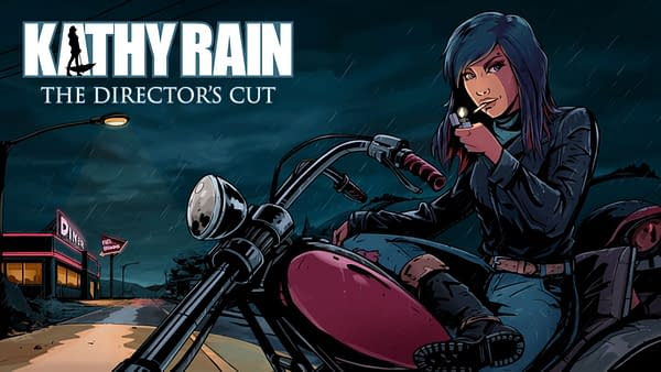 Its time for Kathy to ride again, courtesy of Raw Fury.