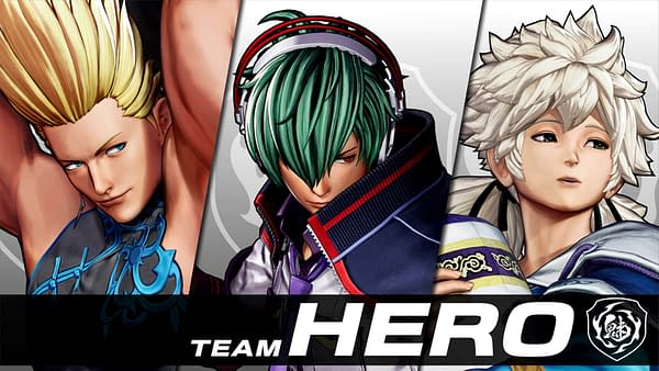 A look at Team HERO as they head into The King Of Fighters XV, courtesy of SNK.