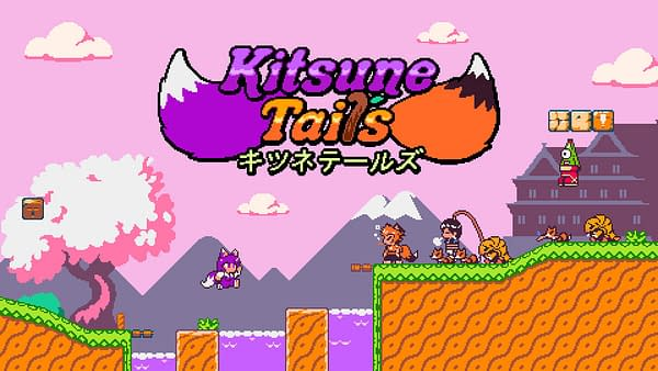 Look at all the retro fun in Kitsune Tails, courtesy of Kitsune Games.