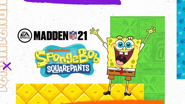 Who throws a mean pineapple under the sea? Courtesy of Electronic Arts.