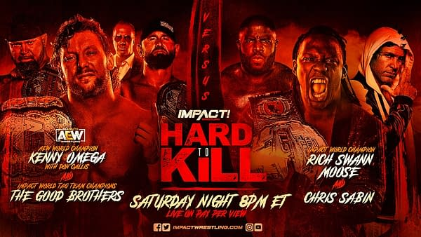 In a last minute change to the Impact Hard to Kill main event, Moose will replace Alex Shelley