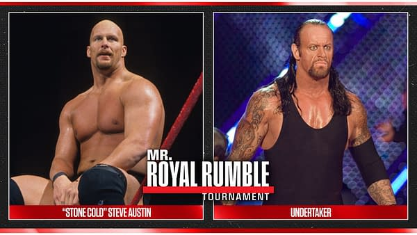 Who's Mr. Royal Rumble: Stone Cold Steve Austin or Undertaker, image courtesy WWE.