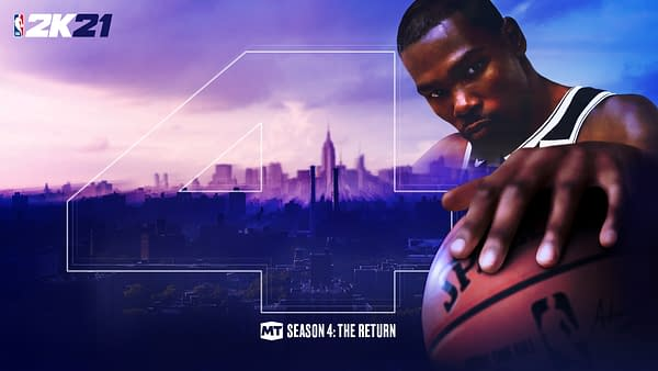 A look at the promo art for Season Four, courtesy of 2K Games.