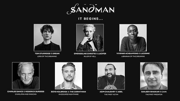 The Sandman announcement key art. (Image: Netflix)