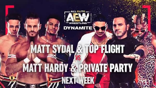 Five Matches Set for Next Week's Episode of AEW Dynamite