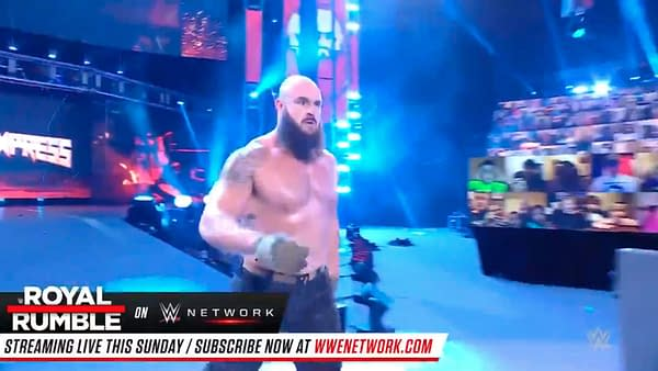 Braun Strowman returned on WWE Smackdown last night, just in time for the Royal Rumble