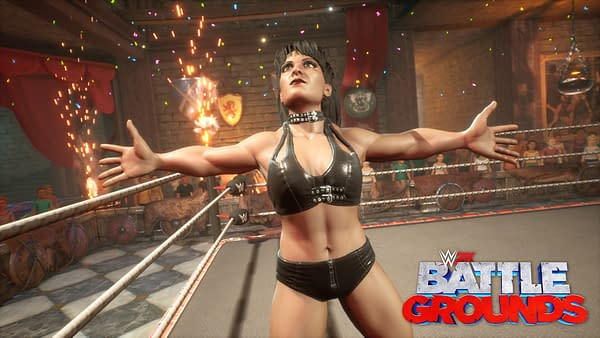 The Ninth Wonder of The World, Chyna, makes her way into the game. Courtesy of 2K Games.