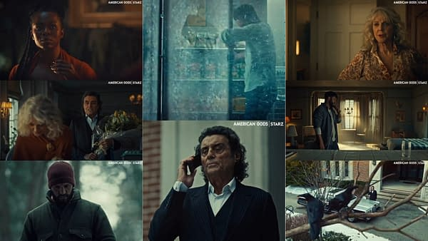 American Gods offered a look at the next Season 3 episode. (Images: STARZ)
