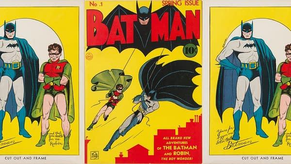 Batman #1 CGC 9.4, 1940 from DC Comics.