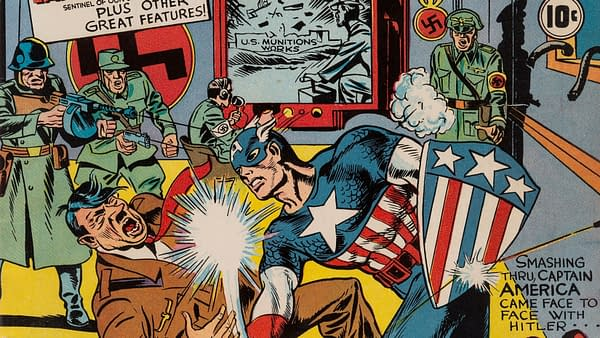 Captain America Comics #1 CGC 8.5, Marvel, 1941.