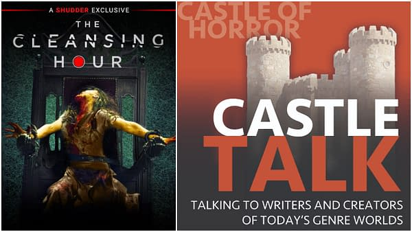 The Cleansing Hour poster and Castle Talk Podcast logo used by permission.