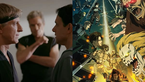 Cobra Kai, Attack on Titan Rule US/UK/Global Top 20 Shows (Jan 2021)
