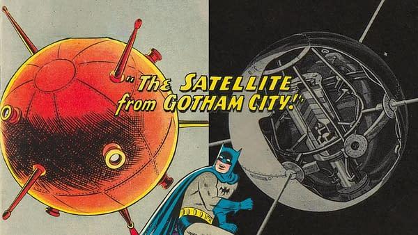 When Batman Took on a Rogue Vanguard 2 Satellite in 1959