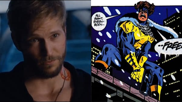 The Flash has cast Jon Cor in season 7. (Images: NBCU/DC Comics)