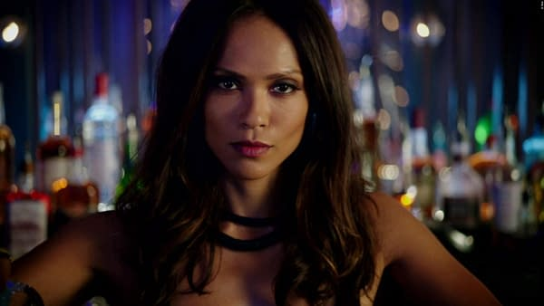 Lucifer star Lesley Ann-Brandt has a message for Donald Trump Jr. (Image: Netflix)