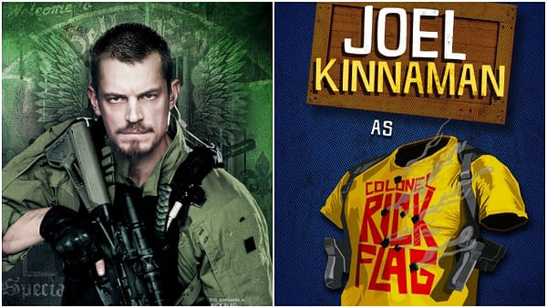 Joel Kinnaman Says The Suicide Squad Really Isn't a Sequel & Ayer Cut