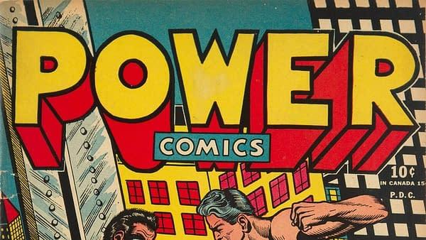 The Pop Art Power Comics Style of L.B. Cole