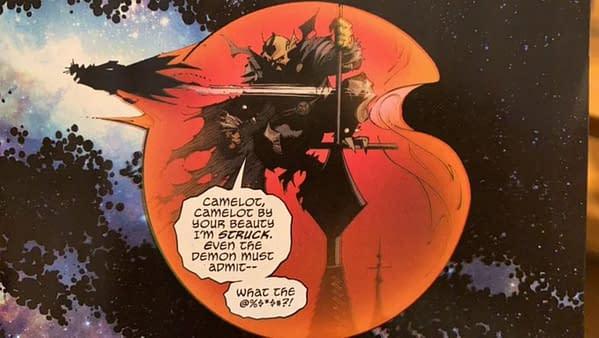A Very Sweary Etrigan The Demon In Death Metal #7? (Spoilers)