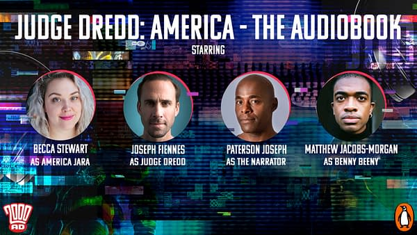 2000AD Audios: Joseph Fiennes as Dredd with Cream of UK Acting Talent