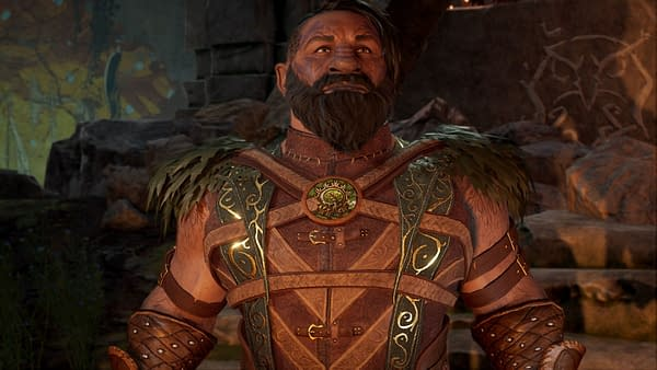 What a beefy druid! Courtesy of Larian Studios.