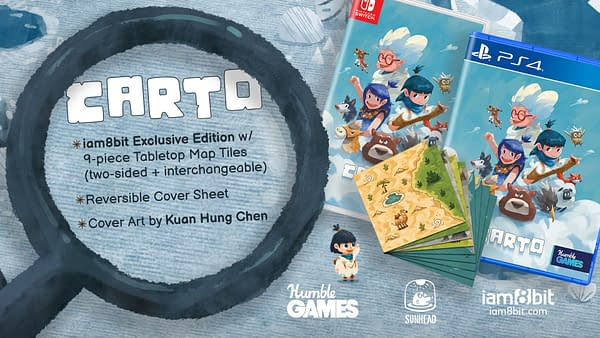 A look at the physical edition, courtesy of Humble Games.