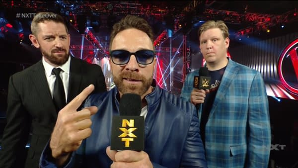 Eli Drake returned to NXT as L.A. Park at NXT Takeover Vengeance Day