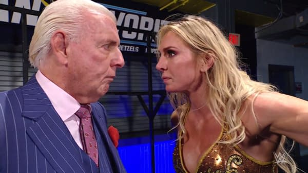 In borderline elder abuse, Charlotte Flair bullies her father, The Nature Boy Ric Flair.
