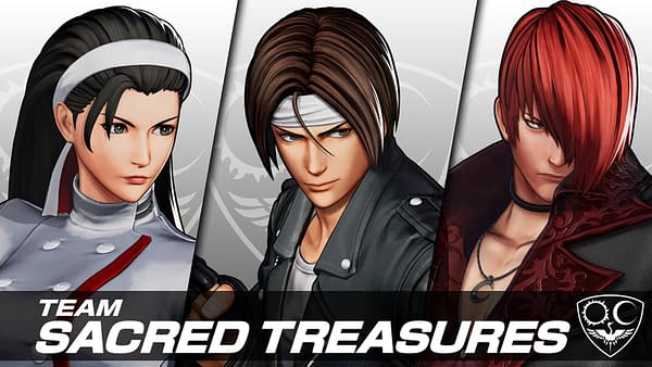 We really do like the fact they're showing people off three at a time! Courtesy of SNK.